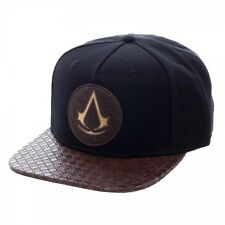Bioworld Assassins Creed Logo Video Game Movie PU Bill Snapback Hat SB4MV3ACM
