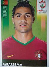 Panini 118 Quaresma Portugal UEFA Euro 2008 Austria - Switzerland