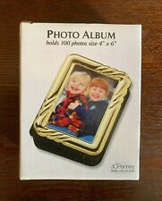 Vintage Photo Album, JC Penney Collection, Gold Frame, Holds 100 photos 4X6 New!