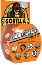 Gorilla Crystal  Clear Repair Tape 8.2m x 48mm Special Offer Pack Of Two Tapes