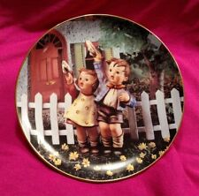 "Hummel Collector Plate - ""Come Back Soon"" from ""Little Companions"" - 1992"