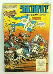 Geomancer Sacrifice Riot Gear Part One Valiant Modern Age Comic Vol.1 No.5