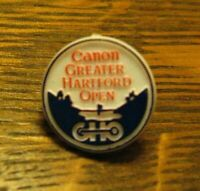 Greater Hartford Open Lapel Pin - Vintage Canon Film Camera Golf Tournament Pin