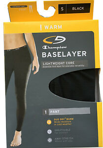 "C9 By Champion Women's BASELAYER PANT Black ""DUO DRY WARM""  NEW ""PREMIUM"""