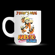 Naruto Anime Manga Personalised Mug Cup Birthday Christmas Novelty Gift - DE01