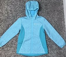 NWT Girl's FREE COUNTRY Soft Shell Light Weight Jacket Fresh Mint 7/8 Water/Rain