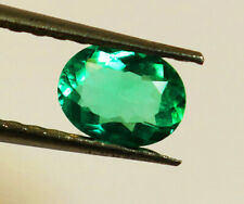 High - End! 1.19 ct Natural Earth Mined Emerald Certified