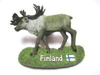 Rentier Elch Finnland Poly Tier Magnet Souvenir Finland 6 cm