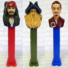 PEZ - Pirates of the Carribean set of 3  !!!
