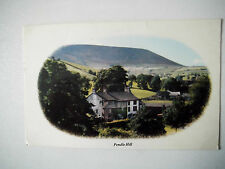 Pendle Hill Old Postcard