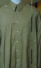 Hugo Boss Dress/Casual Khaki  Shirt 42/ 16 1/2