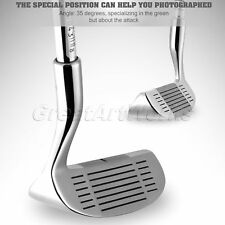 PGM HQ Double Side Golf Club Chipper for Right and Left Handed Golfer Silver 1pk