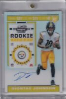Diontae Johnson 2019 Contenders Optic Rookie Ticket Rc On Card Auto