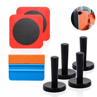 7 in 1 Car Vinyl Wrap Squeegee Window Tint Tool 4 Magnet & Adsorption Patch US