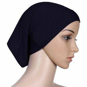 PREMIUM QUALITY Under Scarf Cap Hijab Scarf TUBE BONNET BONE Chemo Hair Wrap