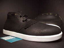 DIAMOND SUPPLY CO JASPER SNAKE BLACK SUEDE WHITE CASUAL DIF0000009-S006 NEW 11.5
