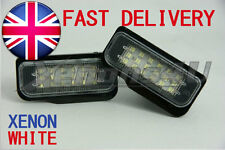 Mercedes Benz R171 W211 W203 W219 CLS LED License Number Plate Light Bulbs Lamps