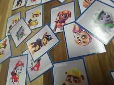 24 PAW PATROL character STICKERS, birthday party favors Nick Jr. Disney