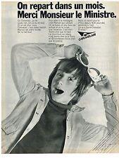 PUBLICITE  1970    CARAVELAIR   compagnie aérienne
