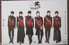 "BOYFRIEND - JANUS ""STANDING IN BLACK COATS & RED SASHES "" POSTER - K-Pop Music"