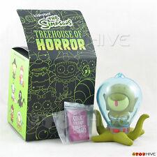 Kidrobot The Simpsons Treehouse of Horror - Alien Kang with book vinyl figure