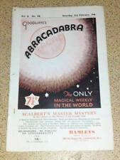 VINTAGE ABRACADABRA (MAGIC) - Four Ace Routine