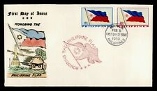 DR WHO 1959 PHILIPPINES FLAG FDC C204144