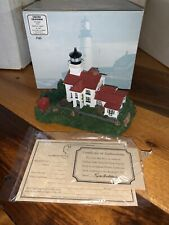 Grand Traverse Michigan 191 Harbour Lights 1997 Lighthouse With Coa Limited Nb