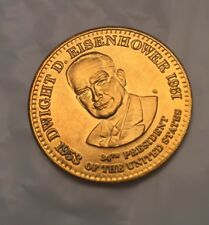 1992 SHELL PRESIDENTIAL COLLECTOR COINS. - Dwight D. Eisenhower