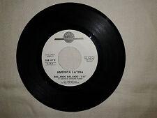 "Fransheska / America Latina  – Disco Vinile 45 giri 7"" Edizione Promo Juke Box"