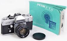 SLR Kamera PETRI FT II mit AUTO C.C. Petri 1,8/55mm Made in JAPAN TOP & CLEAN !!
