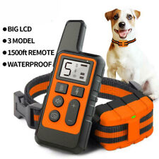 Remote Electric Dog Shock Collar Pet Anti-Bark Training Collar Waterproof IP67