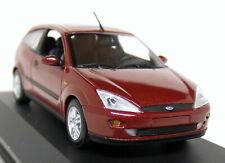 Minichamps 1/43 Scale - Ford Focus Mk1 3dr 2002 - Red Metallic Diecast model Car
