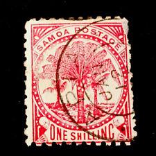 "Samoa ""Palm Tree"" circa 1886/1900 VFU 1s STAMP NH"