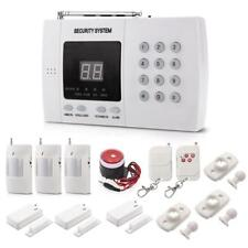 Haus Alarmanlage Funk Alarmsystem GSM SMS Bewegungsmelder Telefon Sicherheit Set