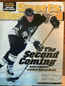 Sports Illustrated March 12, 2001 - Mario Lemieux