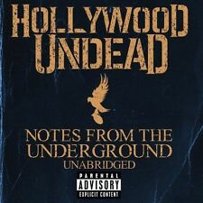Notes From The Underground 0602537260096 by Hollywood Undead CD