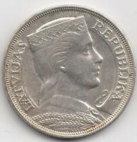 Münze 5 Lati Silber Lettland Pieci 1931 Latvijas Republika Silver Coin