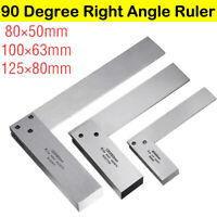 Machinist Engineer Square 90º Right Angle Ground Steel Precision Set Ruler Tool