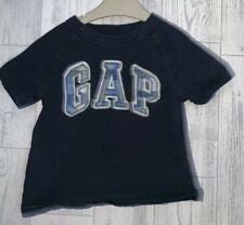 Boys Age 6-12 Months - Gap Long Sleeved Navy Top