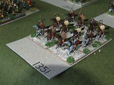 15mm roman era / numidian - 12 Cavalry - cav (A1351)