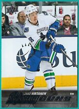 2015-16 Upper Deck Young Guns Rookie card# 457 of Jake Virtanen