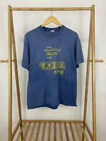 VTG Stedman The Wonderful World Of China Painting Faded Single Stitch T-Shirt XL