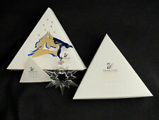 Mint in Box 1997  Swarovski Crystal Annual Snowflake Ornament-- WITH  COA