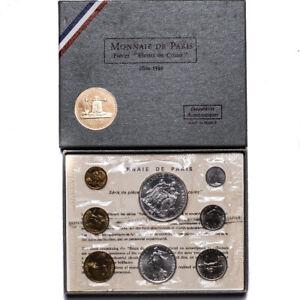 1969 Monnaie De Paris Specimen Set