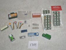 N Scale Train Accessories Tomytec Truck Bus Car Lighted Signs CMW Truck Fence