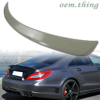 For Mercedes Benz W218 4DR A Type Rear Boot Trunk Spoiler Wing ABS CLS550 CLS63