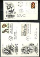 U.S. Stamp First Day Cover Scott 1760-61, 1776, & 1779-80