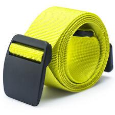 Mens Womens 2 Size Outdoor Sports Adjustable Braided Sugan Belt Waistband Belts