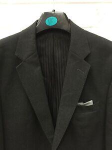 "Club Class Charcoal Grey Blazer Jacket Button Close Size 44"" Chest BNWT #CE"